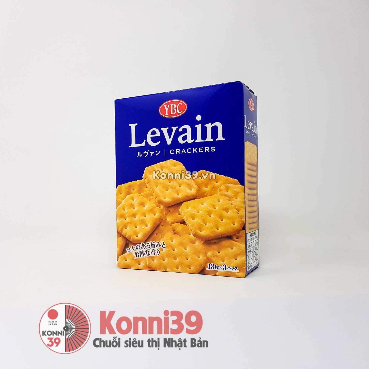 Bánh Levain crackers