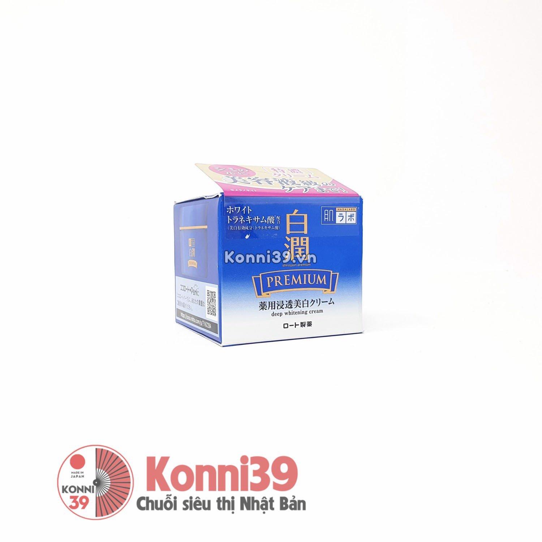 Kem dưỡng trắng da Hada Labo Shirojyun Premium Medicated Deep Whitening Cream