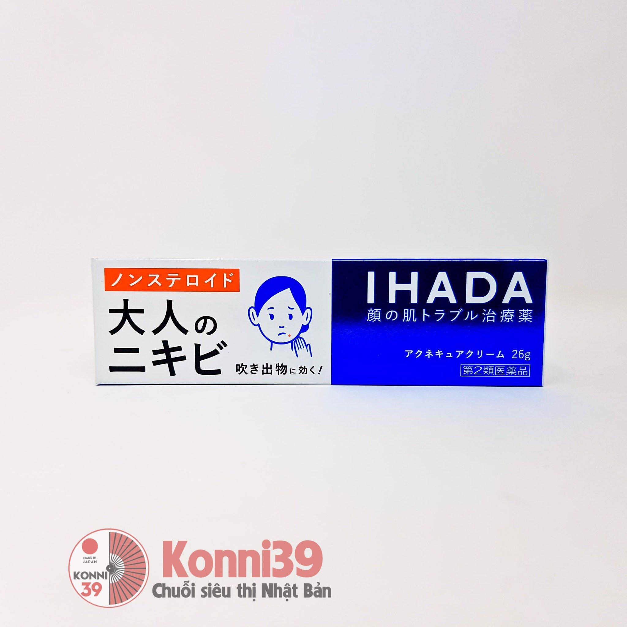 Kem trị mụn Shiseido IHADA 26g