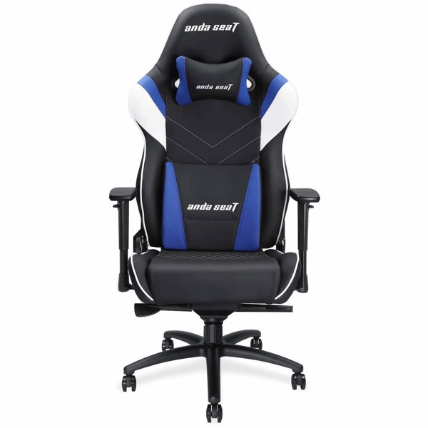 Ghế Anda Seat Assassin King V2 Black/Blue - Full PVC Leather 4D Armrest Gaming Chair