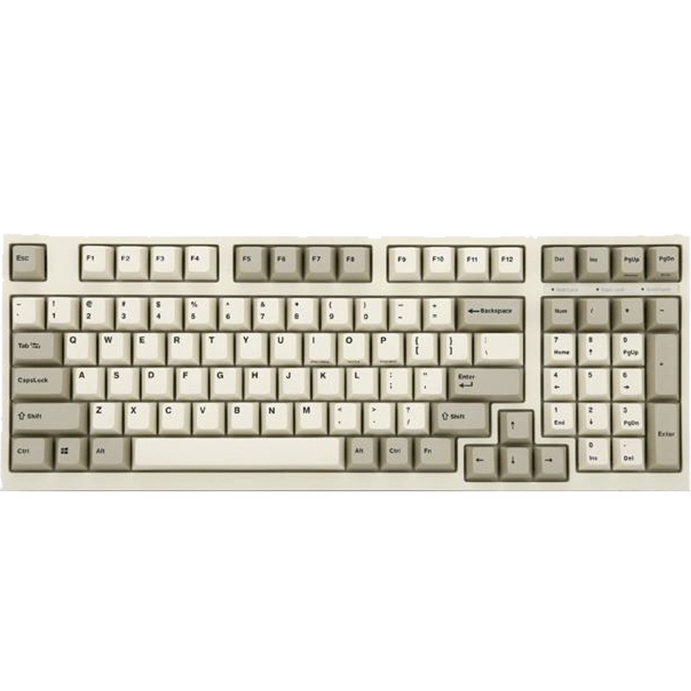 leopold fc980m pd white grey