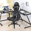 Ghế Anda Seat Assassin King V2 Black/White/Grey - Full PVC Leather 5D Armrest Gaming Chair