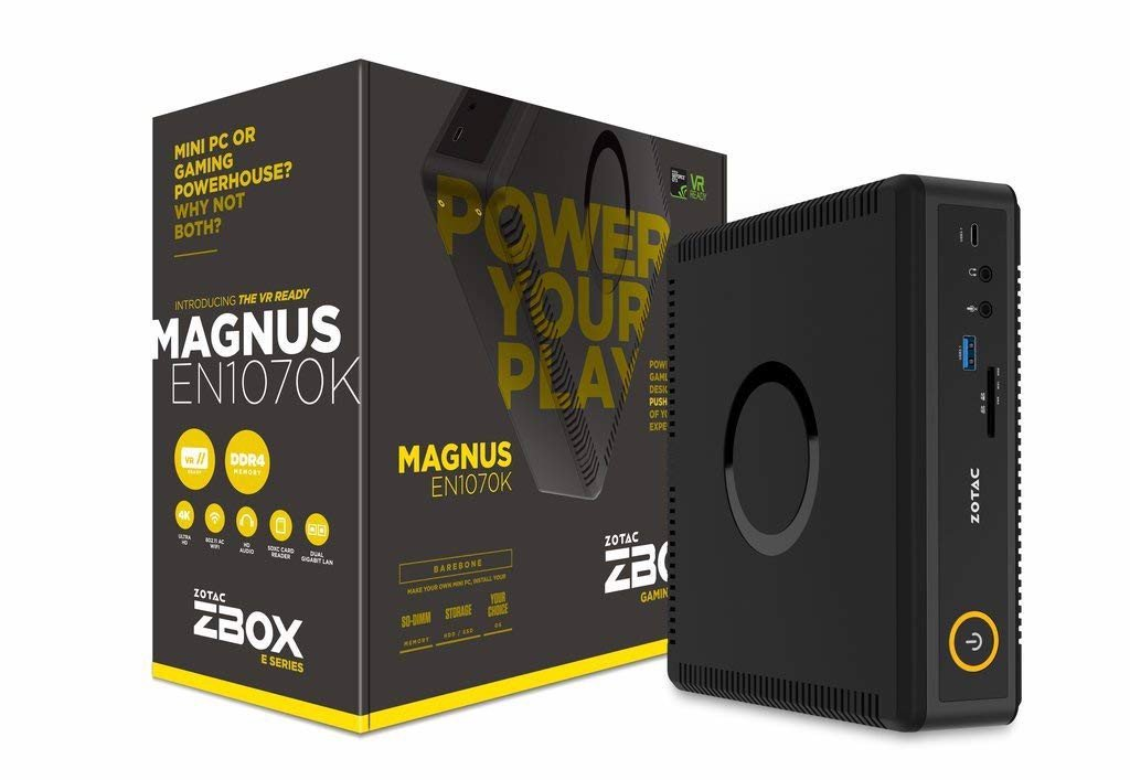 ZOTAC ZBOX-EN1070K-U MAGNUS Gaming Mini PC