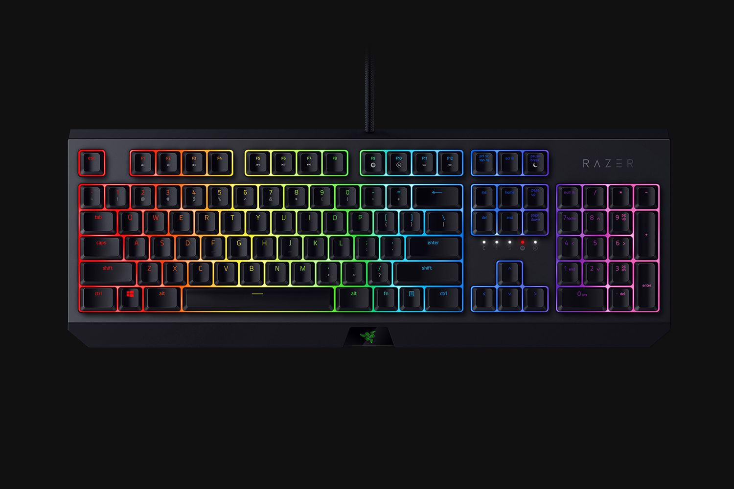 Bàn phím Razer BlackWidow Green Switch