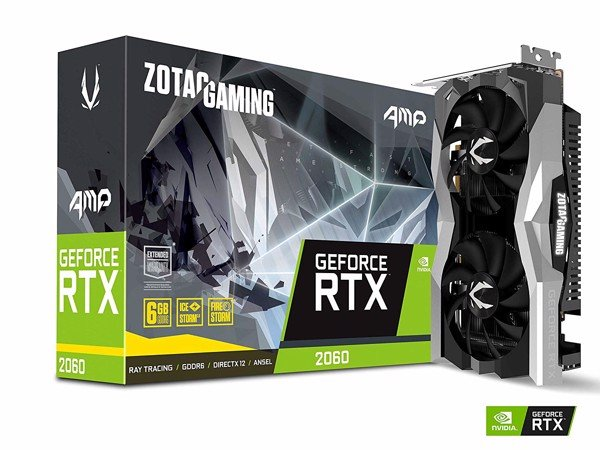 VGA ZOTAC GAMING GeForce RTX 2060 AMP 6GB GDDR6