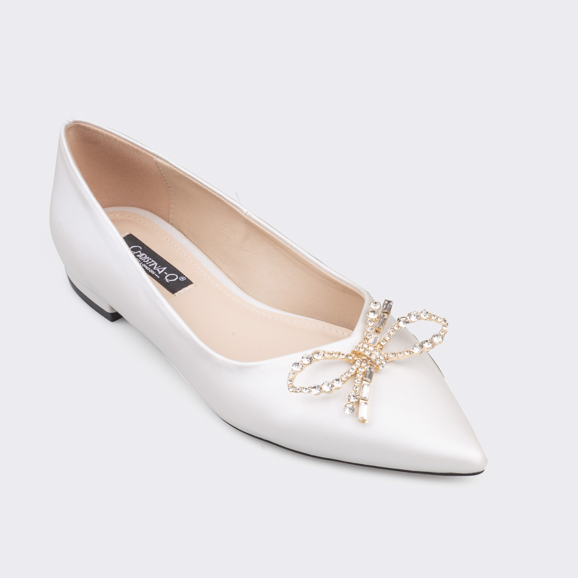 LUXURY - WEDDING SHOES & BRIDAL SHOES GIÀY CƯỚI CAO CẤP ĐẾ BỆT CHRISTINA-Q GBB164