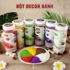 bot decor banh