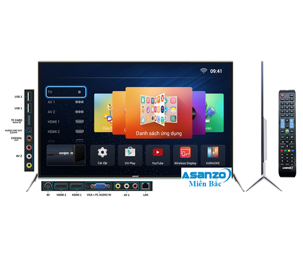 TIVI SMART ASANZO 55AS800 - 55 inch