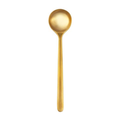 Bond Set of 6 x 13cm Spoon (L) (Brass)