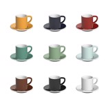 Bond 80ml Espresso Cup & Saucer