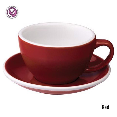 Egg 300ml Café Latte Cup & Saucer
