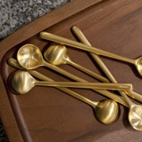 Bond Set of 6 x 10cm Spoon (S) (Brass)
