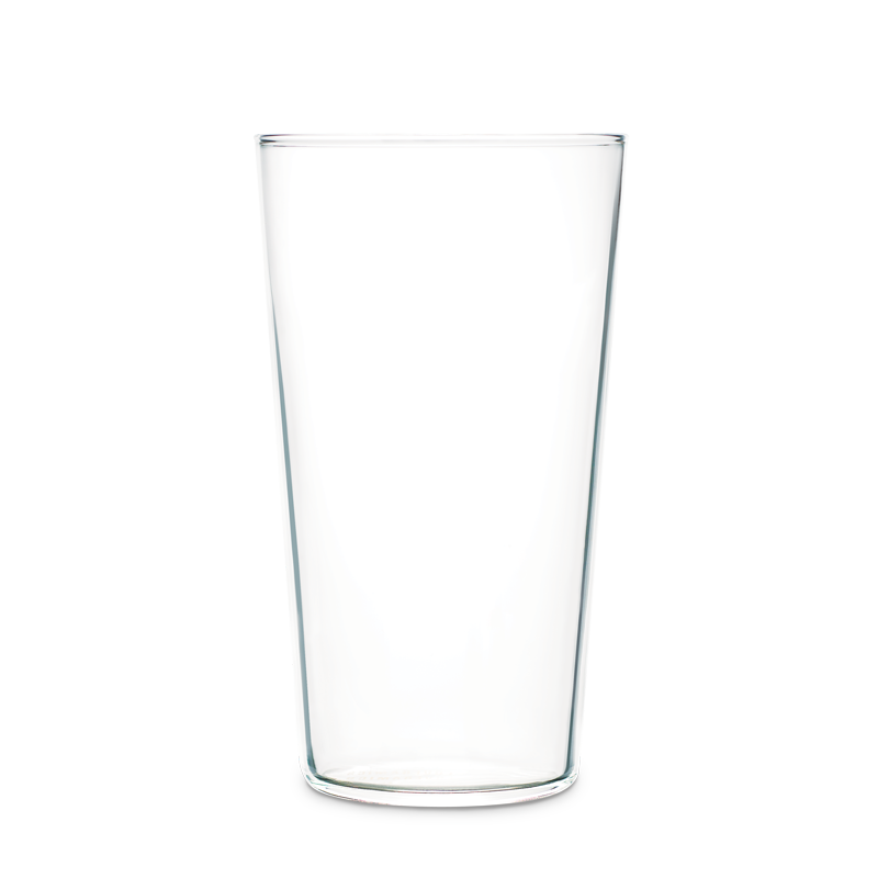 URBAN GLASS - 330ML NARROW TUMBLER L (CLEAR/BLACK)