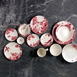A CURIOUS TOILE - 8CM SAUCE DISH (RED)