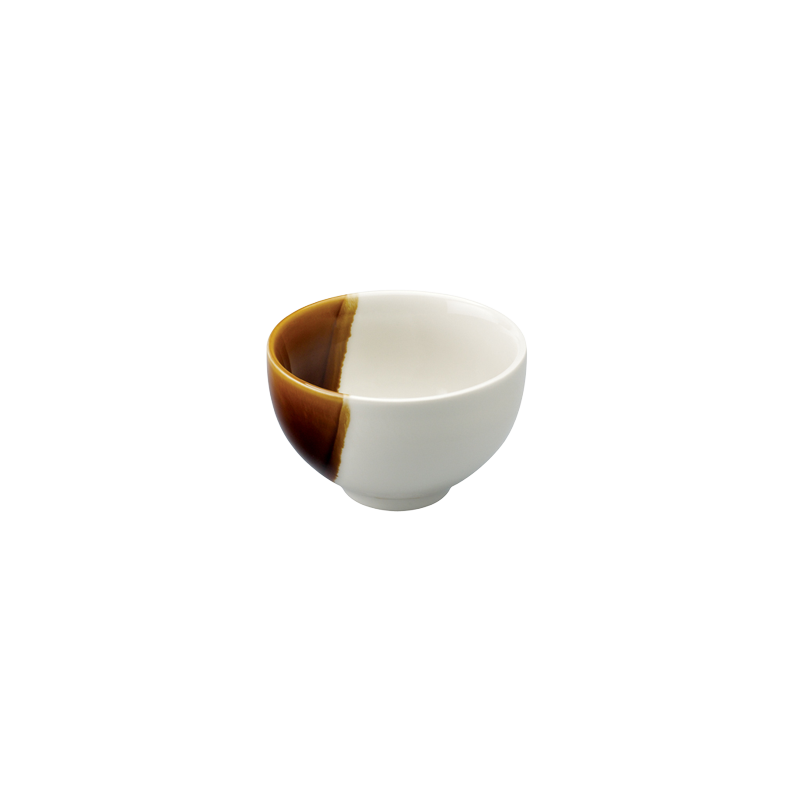 SANCAI - 11CM RICE BOWL (CARAMEL)