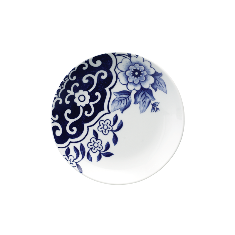 WILLOW LOVE STORY - 15CM SIDE PLATE (BLUE)
