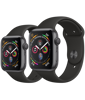 Apple Watch Series 4 Space Grey Aluminium Case with Black Sport Band
