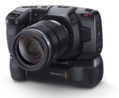 Battery Grip for Blackmagic Design Pocket Cinema 6K and 4K