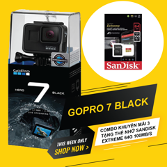 GOPRO HERO 7 BLACK COMBO 2