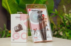 COMBO Osmo Action + Gậy tripod Manfrotto