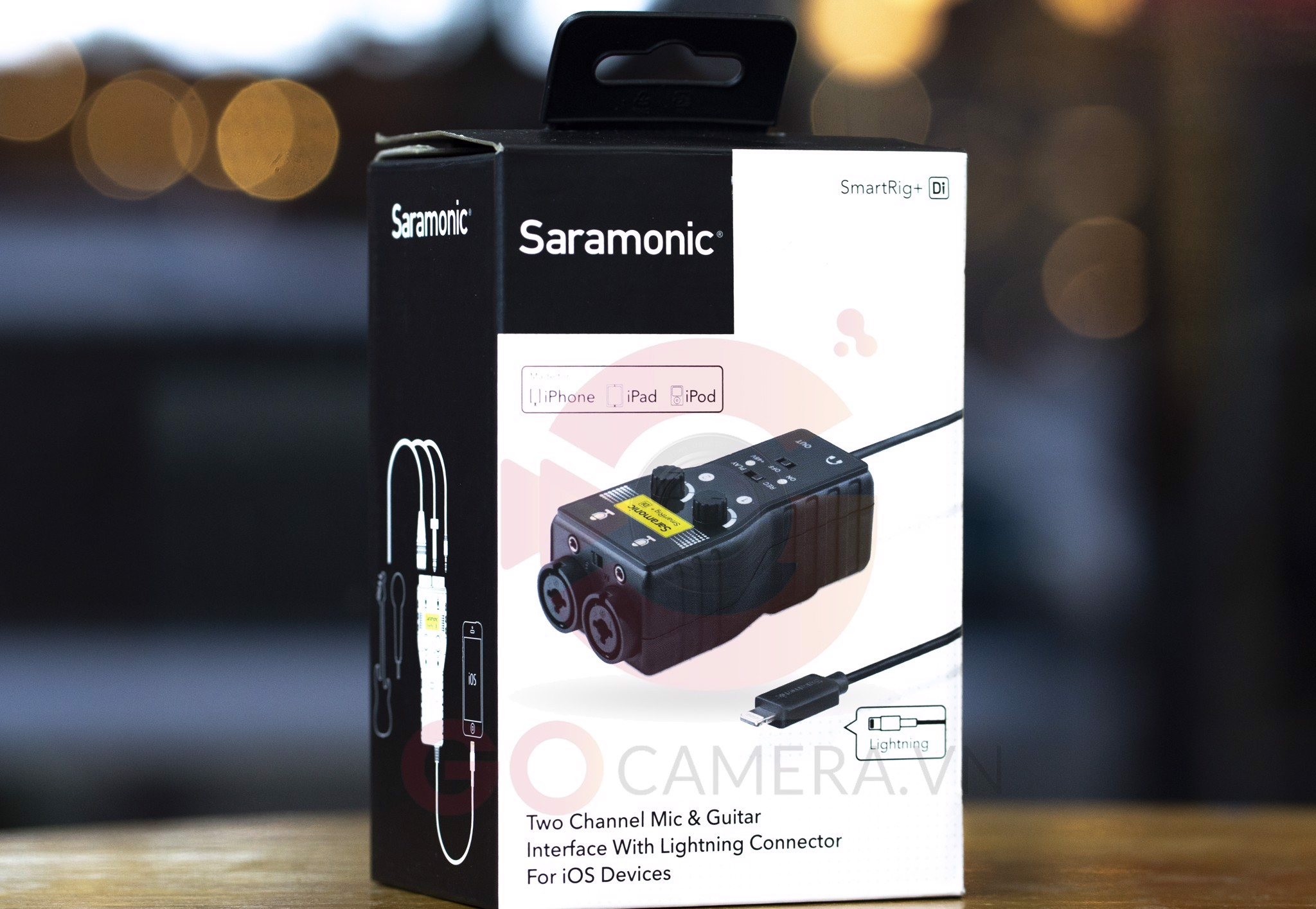 Saramonic SmartRig+ Di for iPhone/iPad