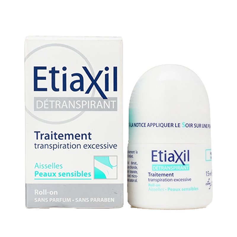 etiaxil transpiration excessive