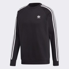 3-Stripes Crewneck Sweatshirt - Black DV1555