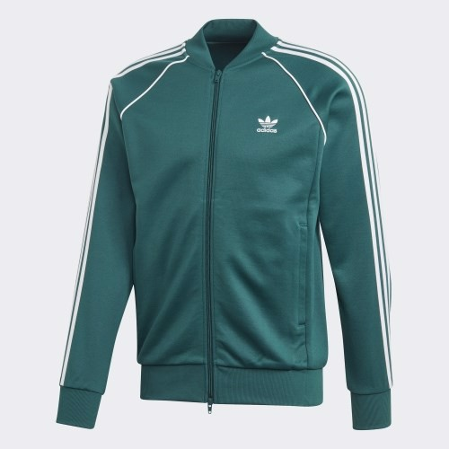 Men's SST Track Jacket - Green EJ9683