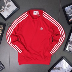 3-Stripes Crewneck Sweatshirt - Red DV1553