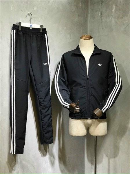 Adidas 3 - Stripes Pants - Black FM1536