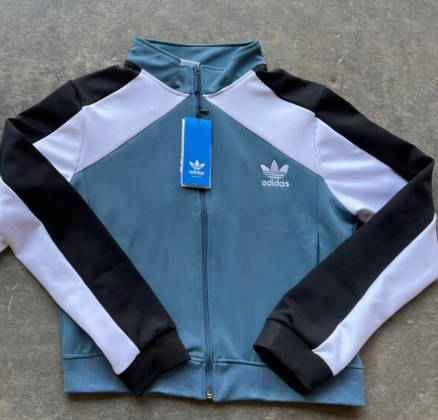 Adidas Sample Women's Jacket - Blue/White HR1210.02