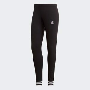 Womens Adidas Originals Tights - Black DH4249