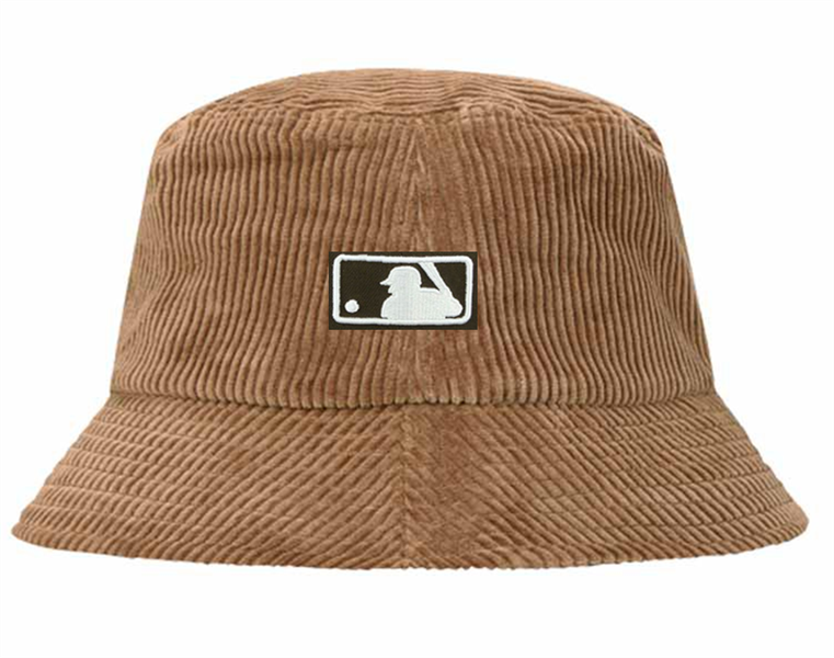Sample New Era MLB Umbire Fashion Bucket Hat - Brown HL2201