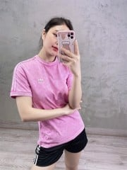 3 - Stripes Sample Tee - Pink HR0210