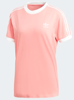 3-Stripes Tee Tactile Rose DH3186