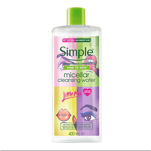 Nước Tẩy Trang Simple Kind To Skin Micellar Cleansing Water (400ml)