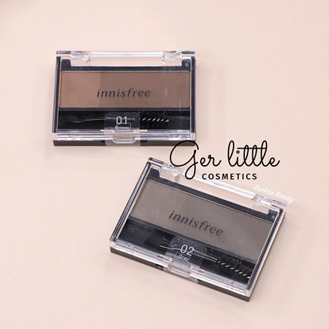 Bột mày Innisfree Twotone Eyebrow Kit