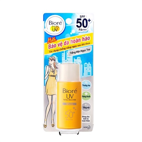 KCN Biore UV Perfect Protect Milk - White