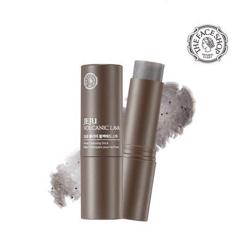 JEJU VOLCANIC LAVA CLEAR BLACK HEAD STICK
