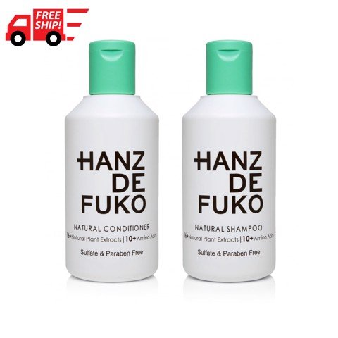 Hanz de Fuko. NATURAL SHAMPOO & CONDITIONER