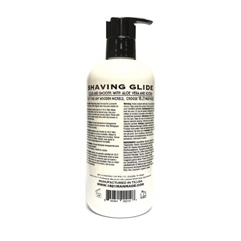Gel Cạo Râu 18.21 Man Made Shaving Glide 500ml | Spiced Vanilla