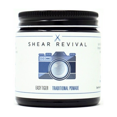 Pomade gốc dầu Shear Revival. Easy Tiger Traditional Pomade