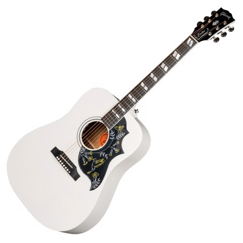 Acoustic Hummingbird White