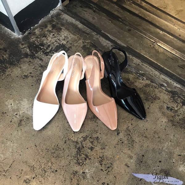 giày cao gót 7p gót thang mika xinh xắn giá tốt tận xưởng