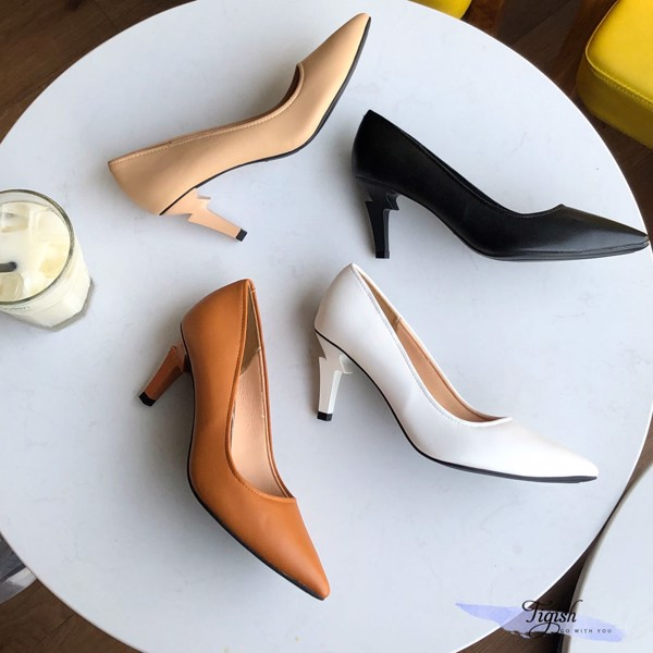 giày cao gót gót tia chớp cá tính cực chất