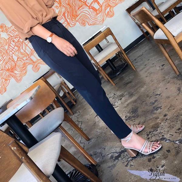 giày sandal gót lăn gỗ xinh