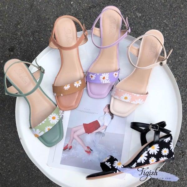 sỉ giày sandal đế xuồng rẻ nhất hcm