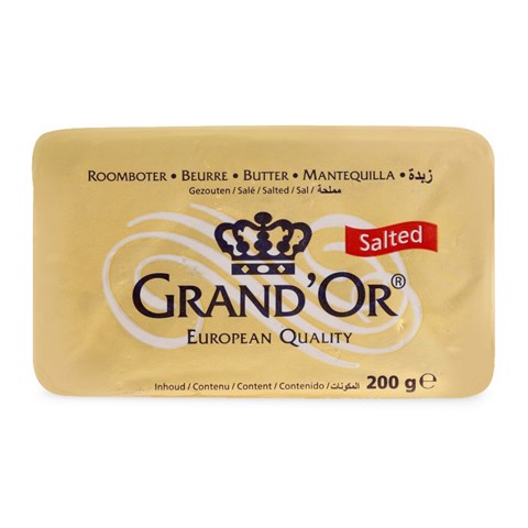 Bơ mặn Grand'Or Butter Salted gói 200g
