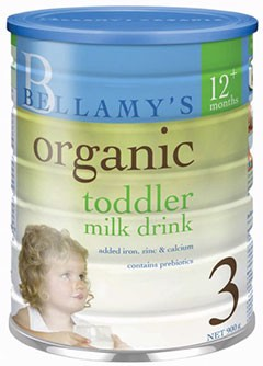 BELLAMY'S Step 3 Organic Toddler Drink 900g