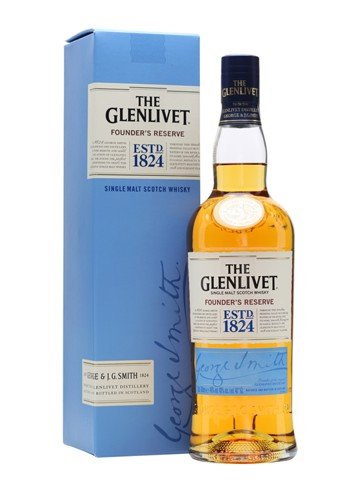 The Glenlivet 1824 Founders Reserve